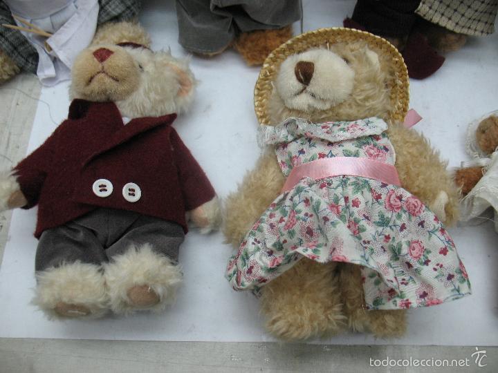 Juguetes Antiguos: Familia de osos de peluche - Foto 5 - 58420497