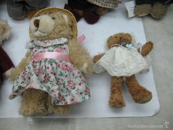 Juguetes Antiguos: Familia de osos de peluche - Foto 6 - 58420497