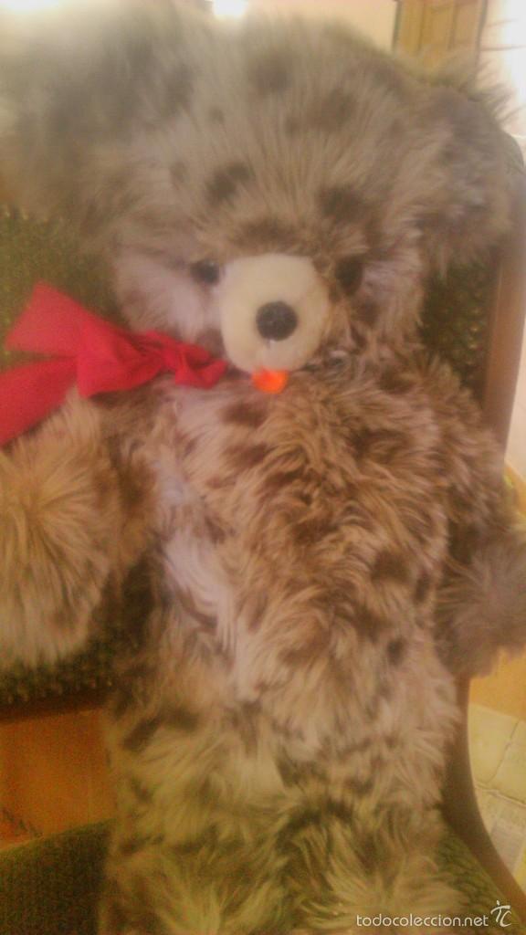 Juguetes Antiguos: oso de peluche articulado ojos de cristal creations dany paris,años 60 - Foto 2 - 58728415