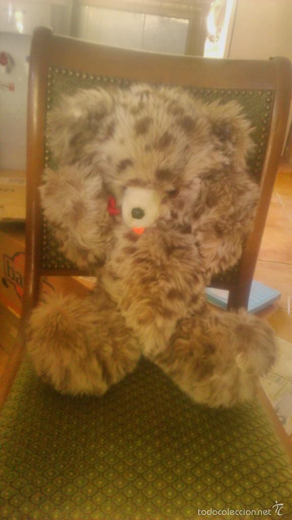 Juguetes Antiguos: oso de peluche articulado ojos de cristal creations dany paris,años 60 - Foto 4 - 58728415