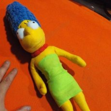 Juguetes Antiguos: PELUCHE MARGE SIMPSON. Lote 62367200
