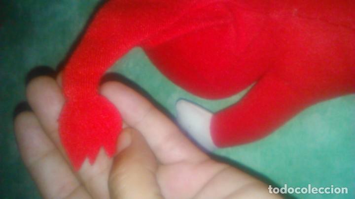 Juguetes Antiguos: muñeco peluche rojo,mascota,lo reconozco pero no sé decir quien es.Ayuda por favor, - Foto 4 - 84993044