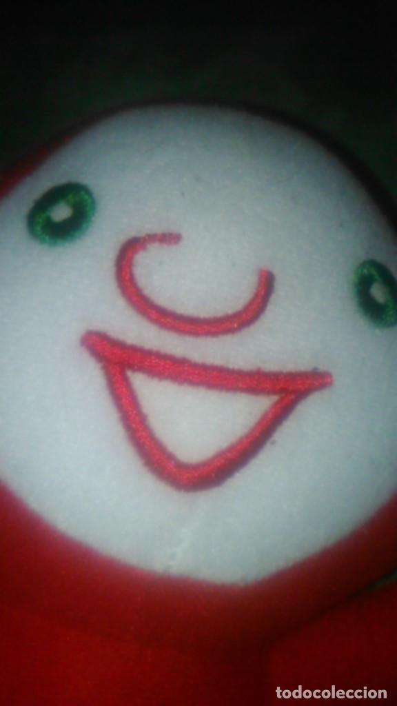Juguetes Antiguos: muñeco peluche rojo,mascota,lo reconozco pero no sé decir quien es.Ayuda por favor, - Foto 5 - 84993044