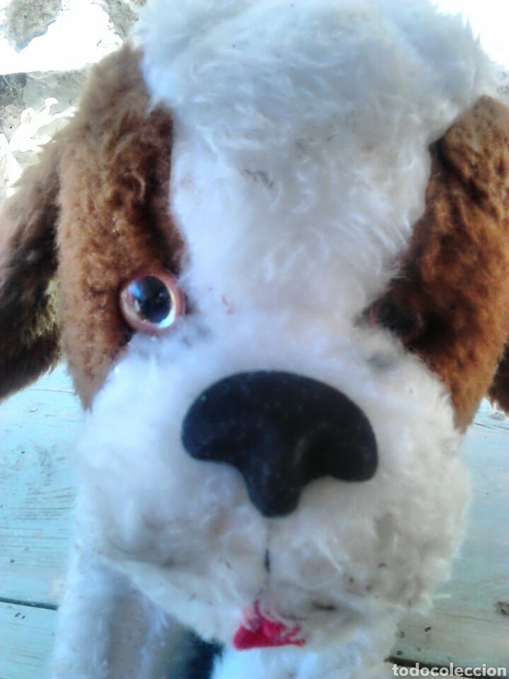 Juguetes Antiguos: Viejo peluche,de un perro,de 25 cm alto,aproximado, ver fotos - Foto 6 - 86993762