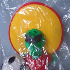 Brinquedos Antigos: PELUCHE FIGURA PIQUÉ - MASCOT WORLD CUP MÉXICO 1986 - 25CM - NUEVO. Lote 92093945
