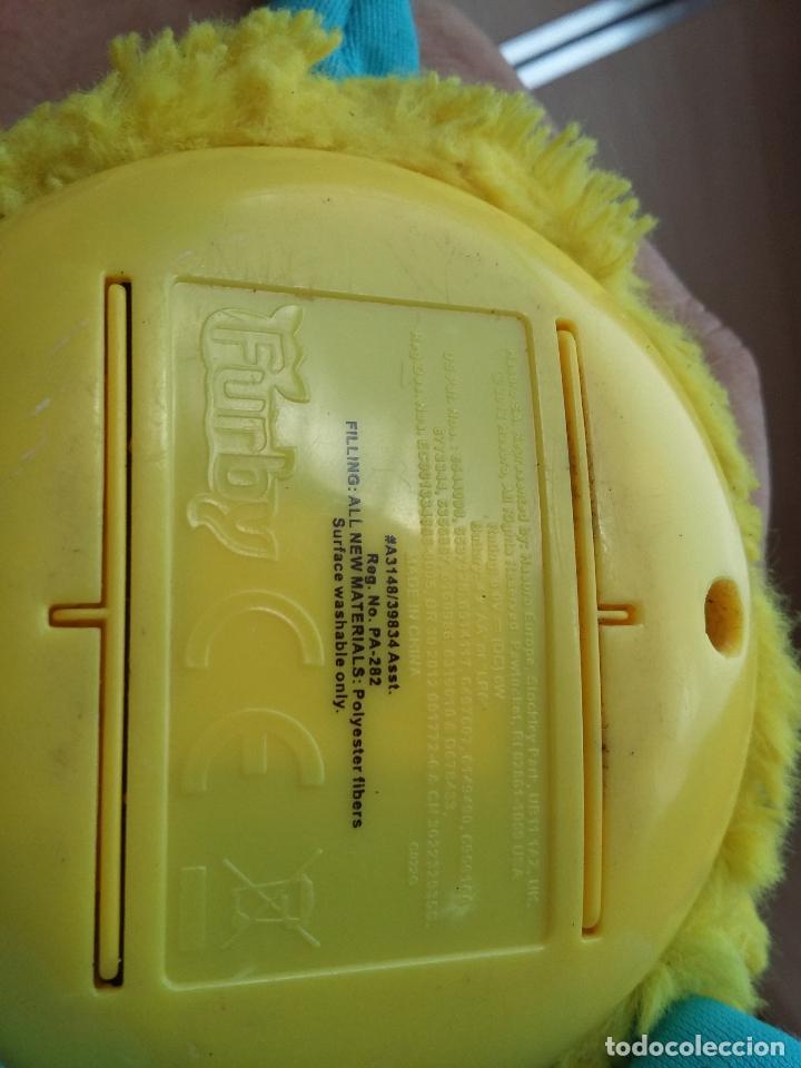 Juguetes Antiguos: FUR0001 - FURBY AMARILLO, oreja mordida - Foto 5 - 95616751