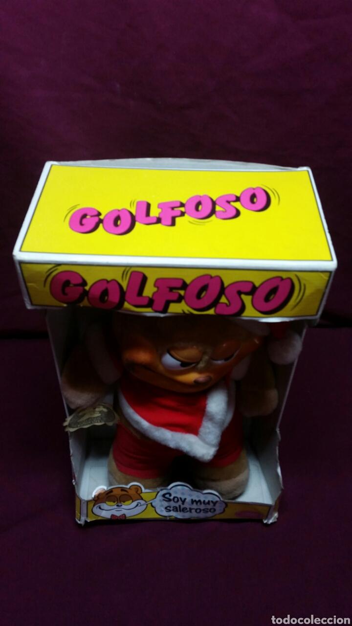 Juguetes Antiguos: PELUCHE GOLFOSO DE QUIRON !!! - Foto 4 - 99725204