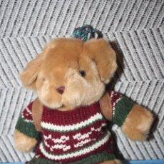 Juguetes Antiguos: OSO MONTAÑÉS *** THE TEDDY BEAR COLLECTION *** PELUCHE ROPA ORIGINAL *** ALTURA 22 CMS ***. Lote 99867595