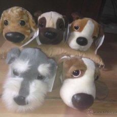 Juguetes Antiguos: LOTE 5 PERROS PELUCHE DE LA COLECCIÓN: THE DOG ARTLIST COLLECTION, CON ETIQUETA!!. Lote 261629620