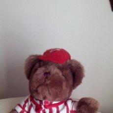 Juguetes Antiguos: MUÑECO - PELUCHE OSO THE TEDDY BEAR COLLECTION JOEL EL JUGADOR DE BEISBOL OSITO. Lote 104024899