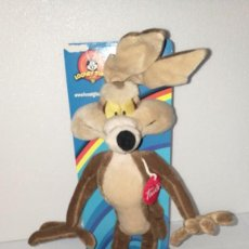 Juguetes Antiguos: PELUCHE COYOTE LOONEY TUNES OFICIAL. Lote 146221169