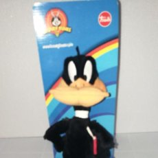 Juguetes Antiguos: PELUCHE PATO LUCAS LOONEY TUNES OFICIAL. Lote 146221224