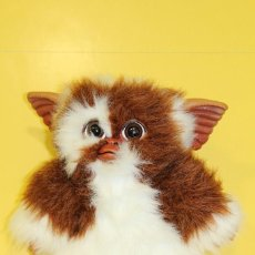 Juguetes Antiguos: PELUCHE GREMLINS GIZMO MARCA QUIRON MIDE: 38 CMS. Lote 106665031