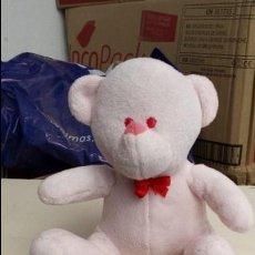 Brinquedos Antigos: PEQUEÑO OSITO DE PELUCHE ROSA. Lote 107221711