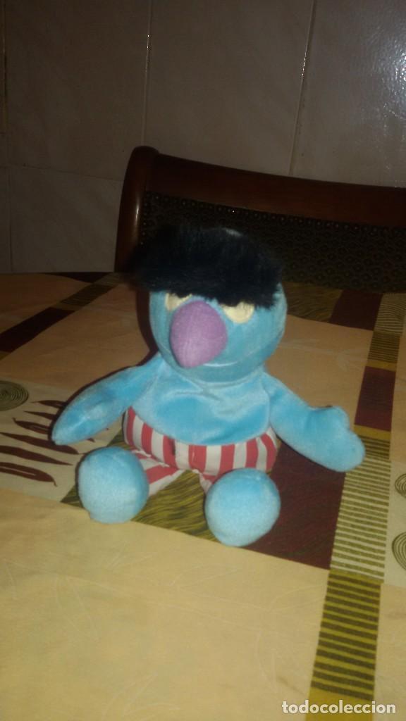 Juguetes Antiguos: muñeco personaje barrio sesamo tyco 1997,peluche - Foto 2 - 109408211
