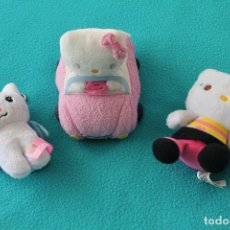 Juguetes Antiguos: LOTE 3 PELUCHES HELLO KITTY. Lote 111850467