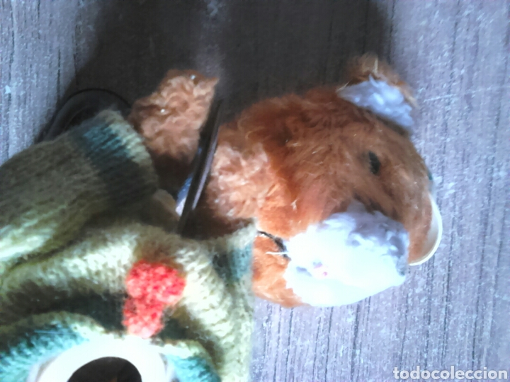 Juguetes Antiguos: Viejo muñeco,oso,con mecanismo a cuerda,made in spain - Foto 9 - 113936350