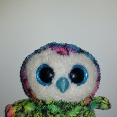 Juguetes Antiguos: PELUCHE BUHO COLECCION BEANIE BOOS MARCA TY. Lote 114400314