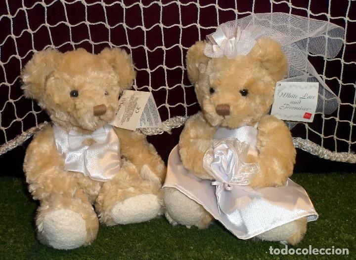 pareja osos novios peluche ositos oso osa vesti - comprar ositos de