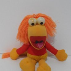 Juguetes Antiguos: ANTIGUO PELUCHE FRAGUEL ROSI, JIM HENSON, FRAGGLE ROCK, QUIRON, MADE IN SPAIN. Lote 121970551