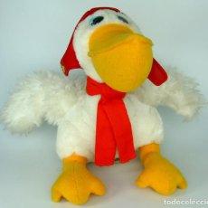 Brinquedos Antigos: MUÑECO PELUCHE PELÍCANO - AEROLÍNEA IBERIA - CACH001. Lote 123410159
