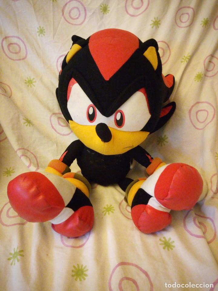 PELUCHE SONIC SHADOW SEGA OFFICIAL COLLECTION. (Juguetes - Ositos & otros Peluches)