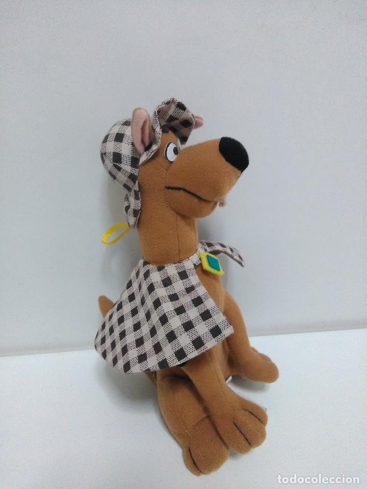 Juguetes Antiguos: Peluche Scooby Doo 24cm - Foto 2 - 126185759