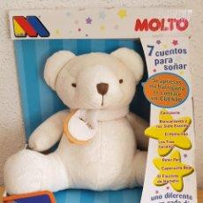 Juguetes Antiguos: == OSITO LISTHO DE MOLTO 2007 - 7 CUENTOS PARA SOÑAR - NUEVO . Lote 131514122