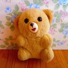Brinquedos Antigos: OSITO MIMOSÍN MUÑECO OSO DE PELUCHE COLOR CREMA. Lote 137201726