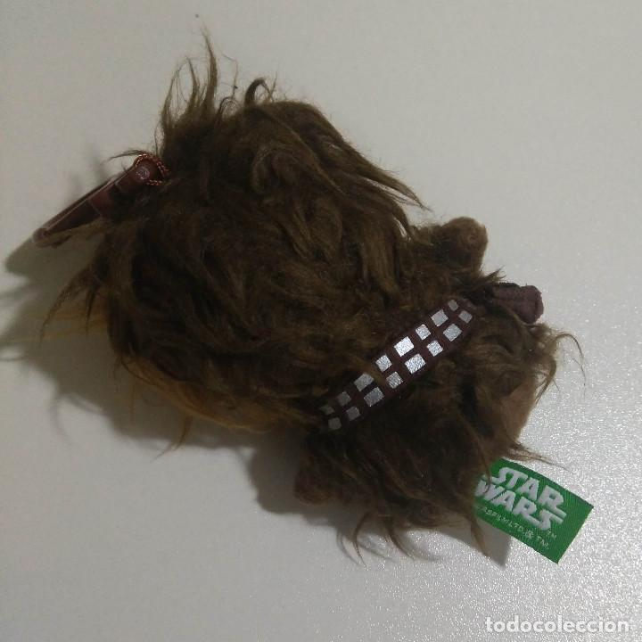 Juguetes Antiguos: STAR WARS PELUCHE Chewbacca STAR WARS GUERRA GALAXIAS PLUSH LLAVERO COLGANTE - Foto 2 - 145532906
