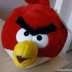 Juguetes Antiguos: PELUCHE ANGRY BIRD RED, NUEVO CON ETIQUETA. Lote 147728694