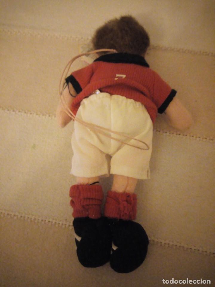 Juguetes Antiguos: jugador de fútbol nº 7 england the beanie babies collection. 2002 - Foto 3 - 151879270