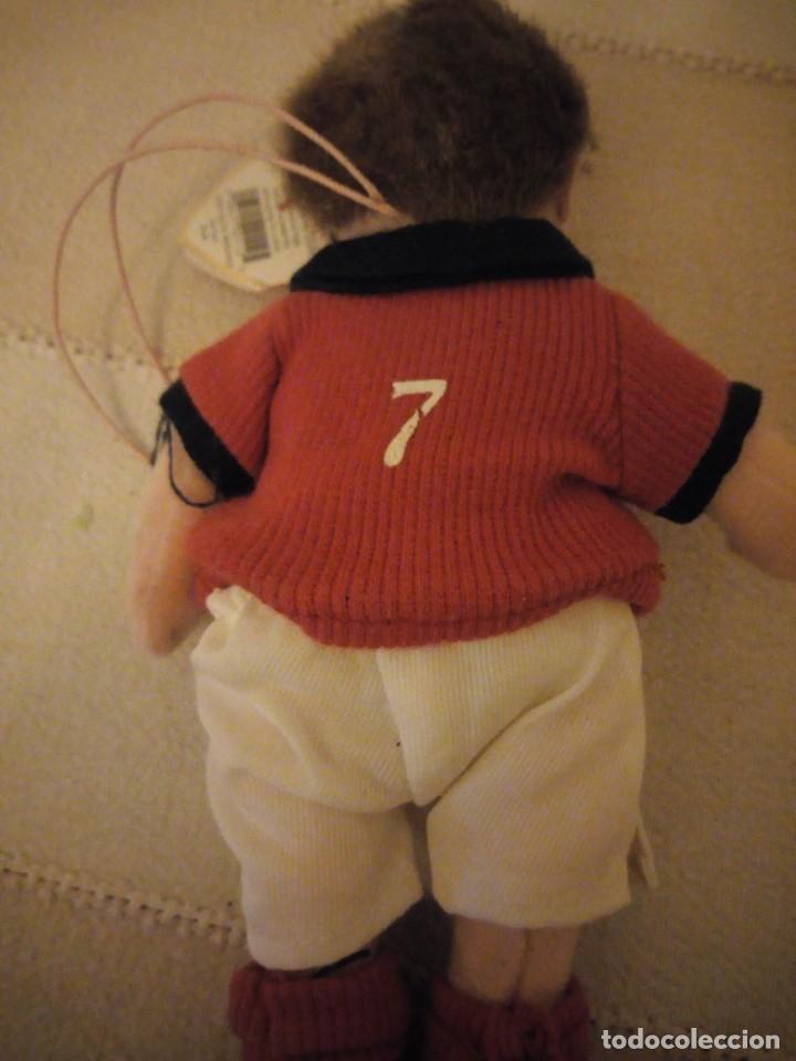 Juguetes Antiguos: jugador de fútbol nº 7 england the beanie babies collection. 2002 - Foto 4 - 151879270