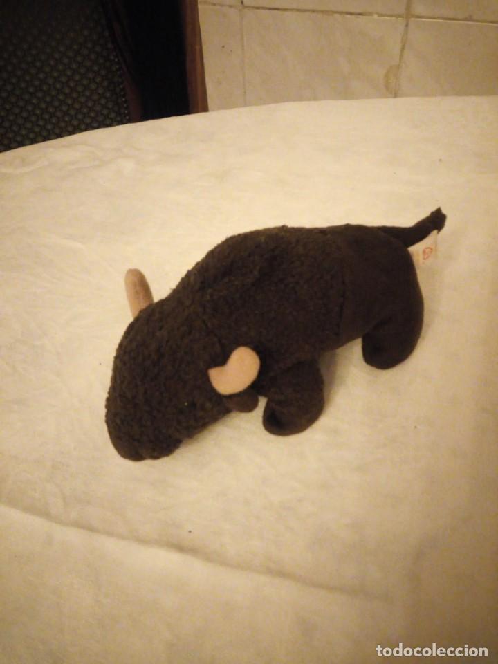 Juguetes Antiguos: Precioso búfalo de peluche ty.1998 - Foto 2 - 153862386