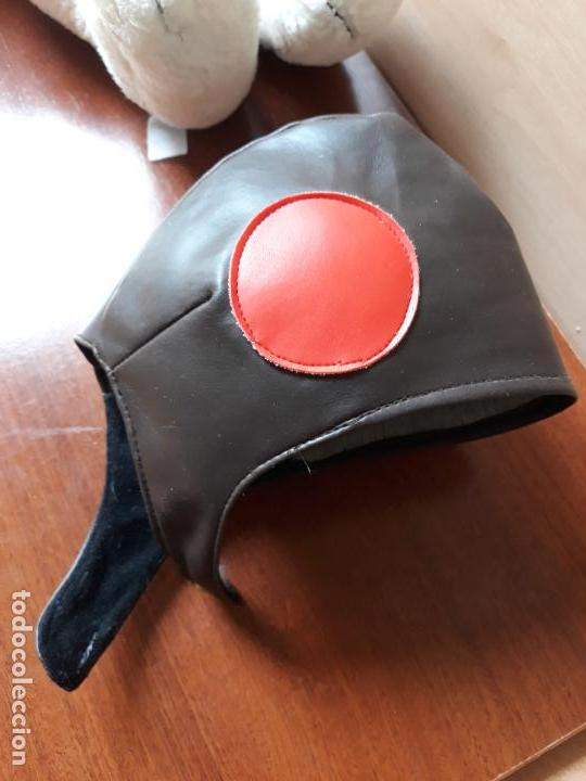Juguetes Antiguos: Peluche snoopy con gorro de aviador y bufanda- 40 cms - Foto 8 - 154293114