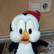 Juguetes Antiguos: PELUCHE PINGUINO CHILLY WILLI. Lote 155701690