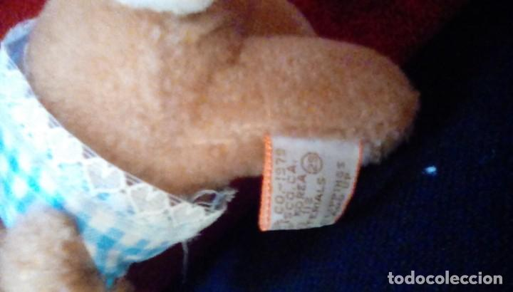 Juguetes Antiguos: Antiguo conejito de peluche mohair. - Foto 4 - 162373742