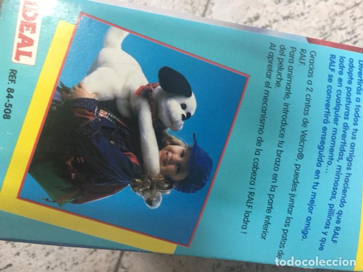 Juguetes Antiguos: Perro peluche Ralf. Ladra, te abraza. Difícil de encontrar.Nuevo en su caja - Foto 2 - 165656857