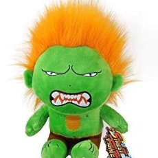 Juguetes Antiguos: LOTE DE 9 PELUCHES DE STREET FIGTHER. Lote 171654914
