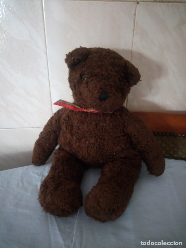 ANTIGUO OSO DE PELUCHE T Y. MADE IN KOREA 1990 (Juguetes - Ositos & otros Peluches)