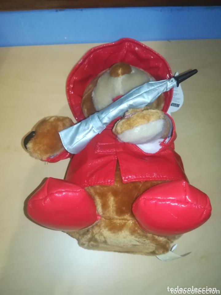 Juguetes Antiguos: Oso de Peluche Rainy Day Bear, innovage Inc. año 2004 - Foto 5 - 173532093