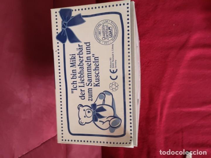 Juguetes Antiguos: Oso de peluche de colección ALTHANS CLUB, MIKI. Con certificado de autenticidad, nuevo en caja. - Foto 4 - 173571575