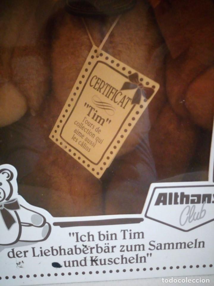 Juguetes Antiguos: Oso de peluche de colección, tim, althan club en caja original y con certificado de autenticidad - Foto 2 - 173574607