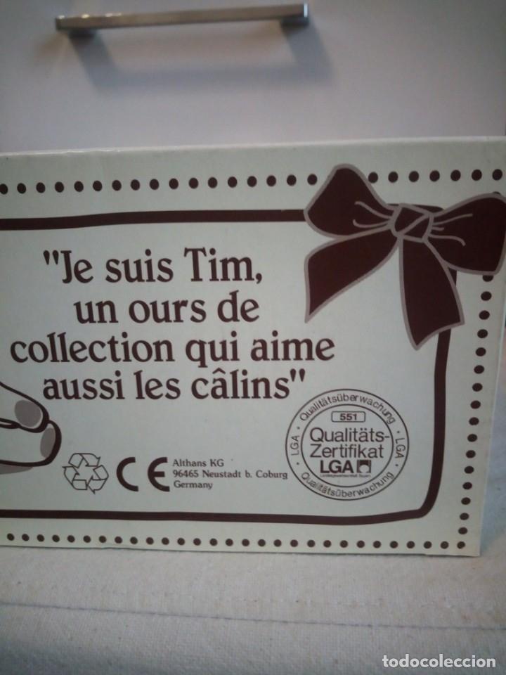Juguetes Antiguos: Oso de peluche de colección, tim, althan club en caja original y con certificado de autenticidad - Foto 3 - 173574607