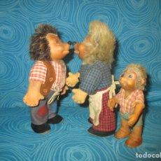 Brinquedos Antigos: FAMILIA ERIZOS MARCA STEIFF. Lote 173978728
