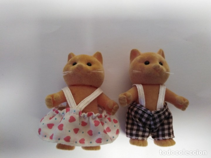 Juguetes Antiguos: Familia gatos Sylvania - Foto 4 - 176447214