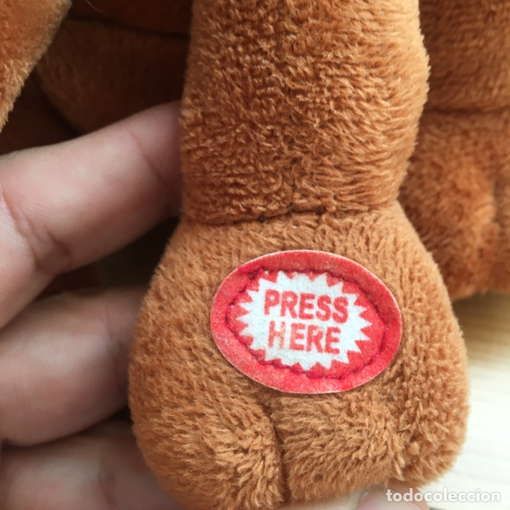 Juguetes Antiguos: Scooby Doo musical - Peluche - Foto 4 - 178710762