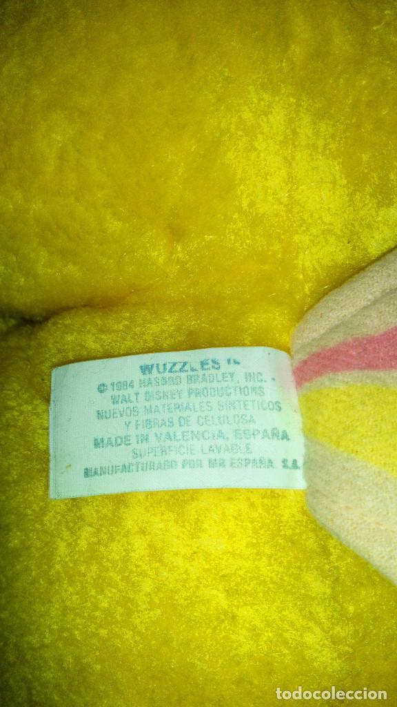 Juguetes Antiguos: DIFICIL Y BONITO PELUCHE OSAPOSA-BUTTERBEAR DE LOS WUZZLES - WALT DISNEY - HASBRO - 1984 - Foto 8 - 191225358