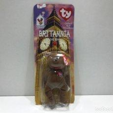 Juguetes Antiguos: BEANIE ORIGINAL BABY - MARCA TY - BRITANIA THE BEAR - 1999 - EN BLISTER. Lote 193963616