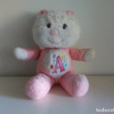 Juguetes Antiguos: OSITO ANGELOSO ROSA VIR VALENCIA MADE IN SPAIN OSO AMOROSO. Lote 195016031